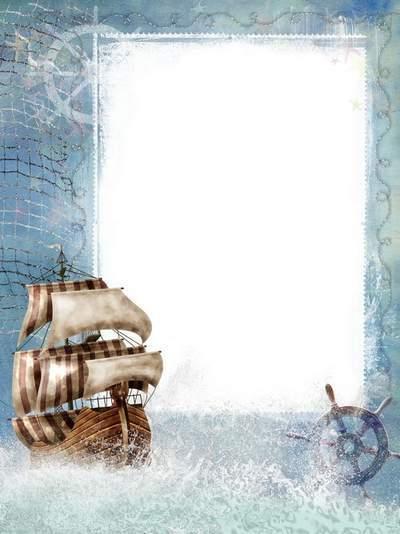 Marine frame - Sail our dreams