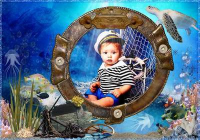 Children's Picture Frame free download - Underwater walk