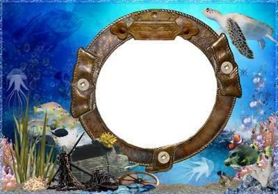 Children's Picture Frame - Underwater walk