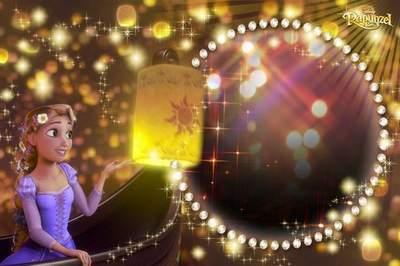 Kid's Frame - Rapunzel, Magic Lanterns