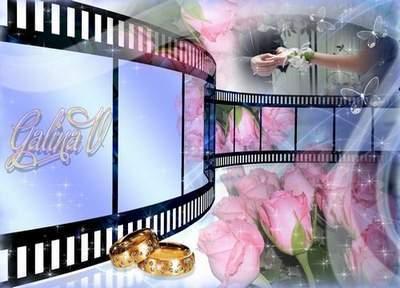 Frame for photo - Wedding film
