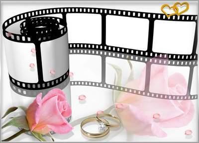 Frame for photo video film