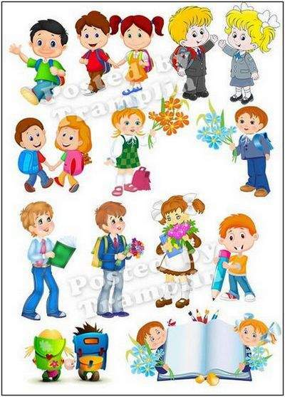 Clipart PNG Children school students - 100 PNG Images, transparent background