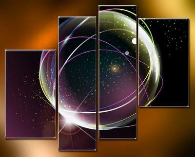 Polyptych in PSD - Abstraction