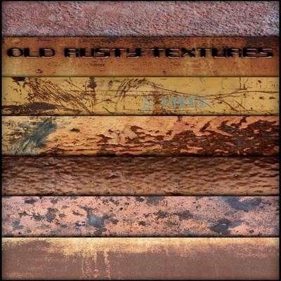 Old rusty textures
