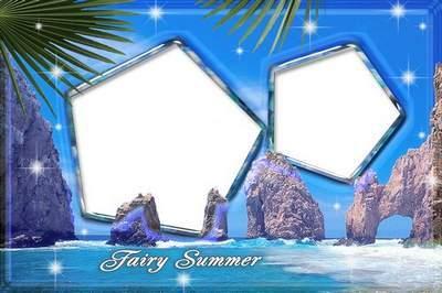 Summer frame - Sea Holidays