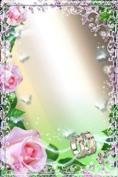 Wedding Photoframe - Rose Aroma