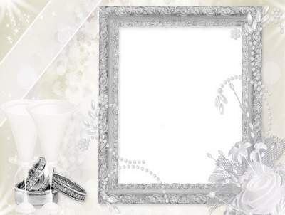 Frame for Newly Married - Wedding Gentle