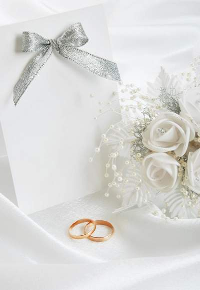 Wedding backgrounds with rings