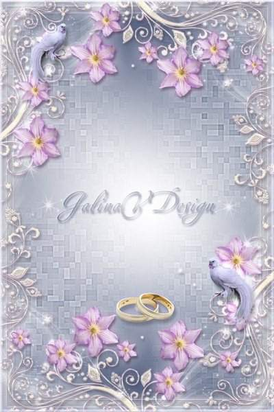 Wedding Frame for Photo - Fidelity Rings