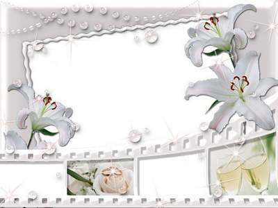 Frame for photoshop - Wedding