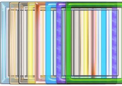 8 Translucent frameworks-cuts for a photoshop