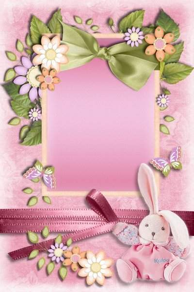 Photoframe psd photoshop - For Nice and Cute Baby Girls free download