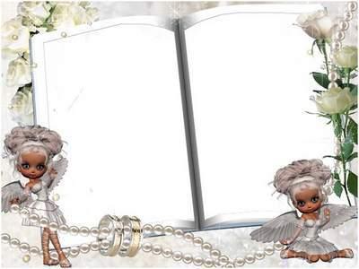 "Frame for photoshop ""Wedding fairy"""