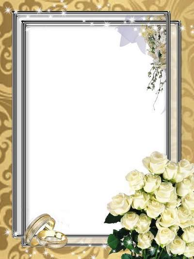 PhotoFrame psd download - Wedding