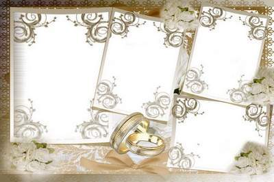 Photo Frame png download - Wedding