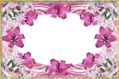 Рамка для фото - Блеск лилий