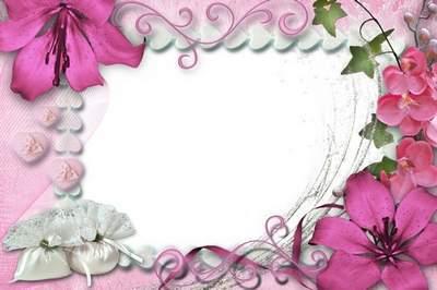 Рамка для фото - Цветочный день