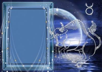 The collection of frameworks for a photo - Crystal zodiac signs