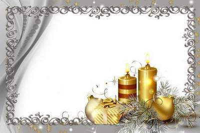 A set of Christmas 14 png frames - Your smile - ray of sun Free download