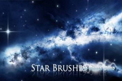 Brushes for a photoshop - stars, fireworks, lights