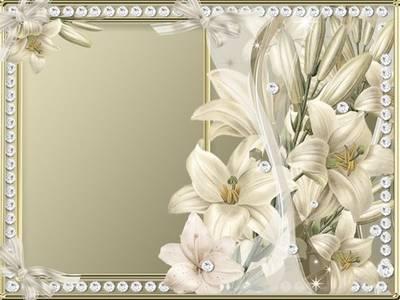 Photo Frame - Precious Lily