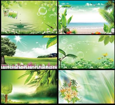 Creative psd backgrounds Sunny nature (for photoshop) ~ 4200x5400 px