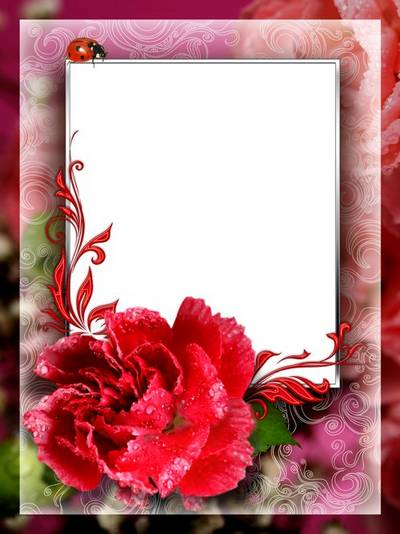 Romantic photo frame PSD file, 5315x7087 px, 300 dpi, rar 56 Mb