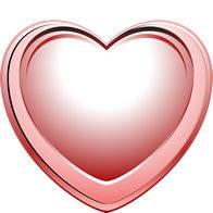 Clipart on a transparent background - I'll give you my heart