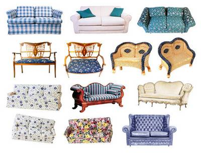 Clipart psd sofas, couches, chairs free download