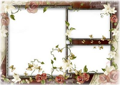 Free Vintage photo frame psd template - Old photo frame psd layered, separate, 4961x3508 px, 300 dpi, rar 125 Mb