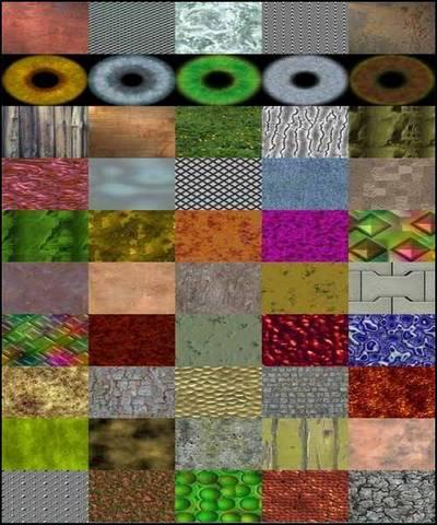 FrmTR Texture Pack - 430 JPEG, 80x80 px - 1024x1024 px, rar 30  mb