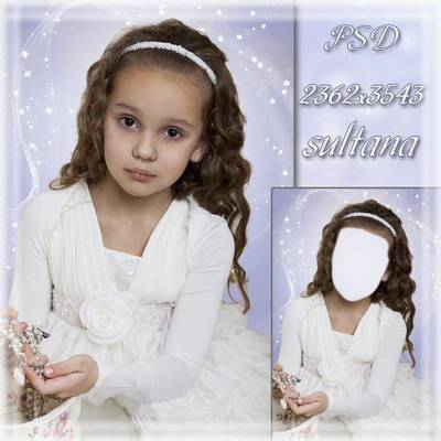 Frames for Photoshop - Little fashionista