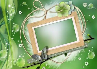 Frame for Photoshop Spring