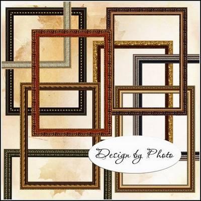 Free Picture Frame Baguette set - 31 PNG images frame baguette download, 300 dpi, 4000x3000 px, rar 102 MB