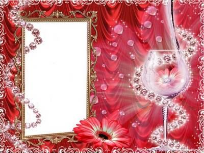 Frame for photoshop - Romantic