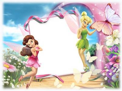 Free Baby photoshop frame - Fairies download