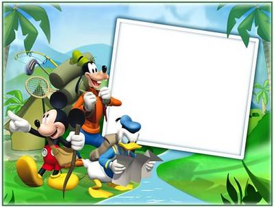 Childrenu0027s Frame   Mickey Mouse And His Friends