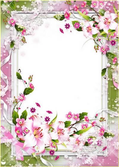 Frame Lilies | Рамочка Лилии