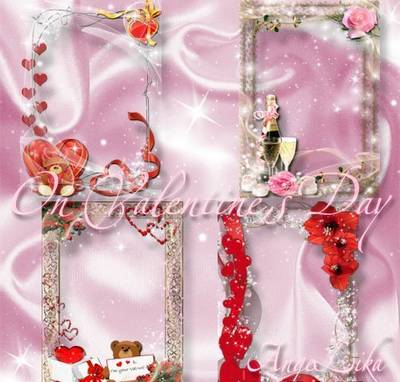 Collection Photoframes for Lovers - On Valentine's Day (Part 2)