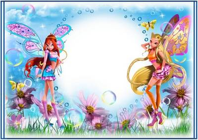 Children's photo frames - the Heroes of fairy-tale worlds