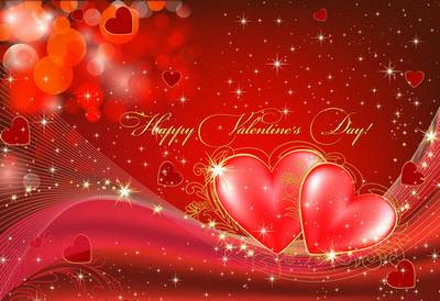 PSD Sources - The world is filled with love on Valentine's Day
