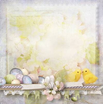 Easter Photoshop background - 25 JPG | 3600x3600 px
