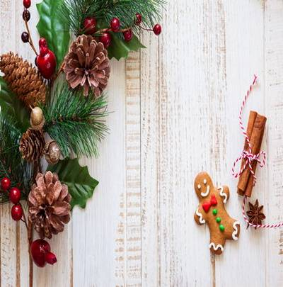 Christmas JPG background - Free download