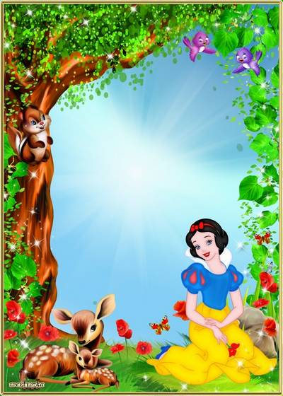 Child's frame - Fairy-tale princess