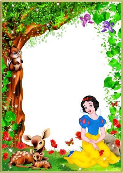 Child's frame - Fairy-tale princess