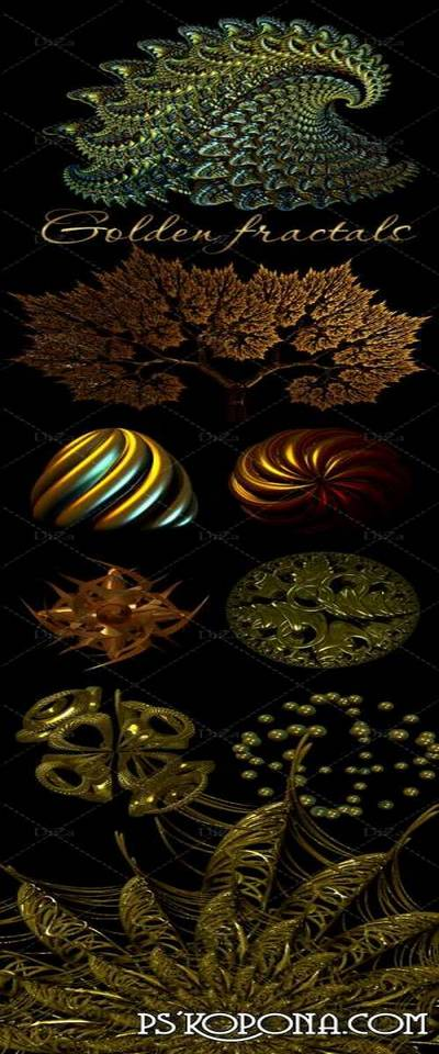 Golden fractals