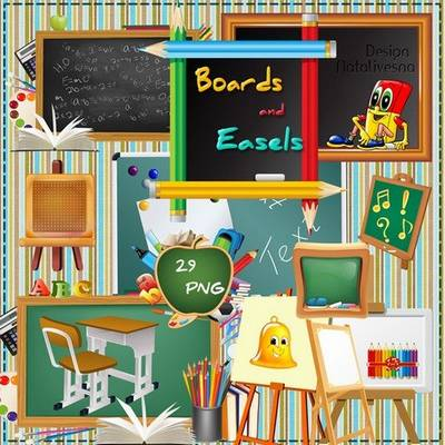 School PNG Images - 29 PNG School Board, Easels