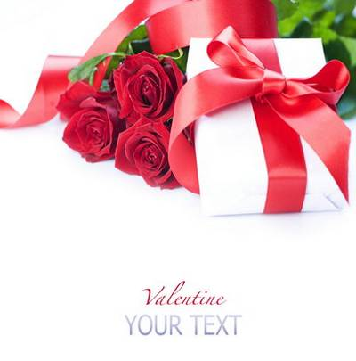 Backgrounds Valentine's Day – heart Roses