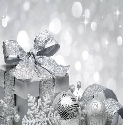 Great white Christmas backgrounds